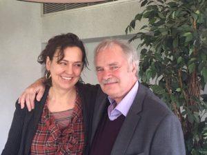 Hende Bauer en Paul Gilbert