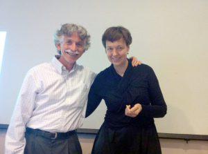 Hende Bauer en Ronald Siegel